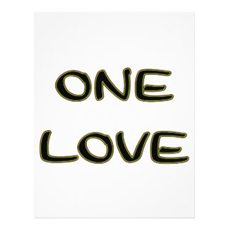 One Love Full Color Flyer