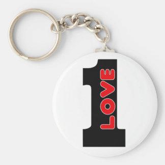One Love Keychain