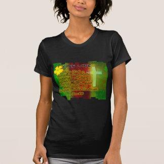 One Love of Christ- Ladies Dark Shirt