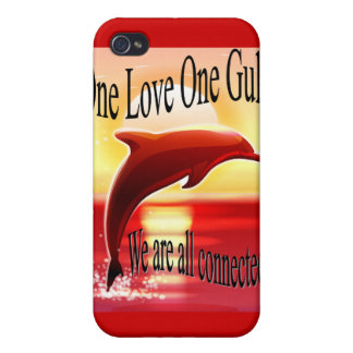 One Love One Gulf I-phone 4 case Case For iPhone 4