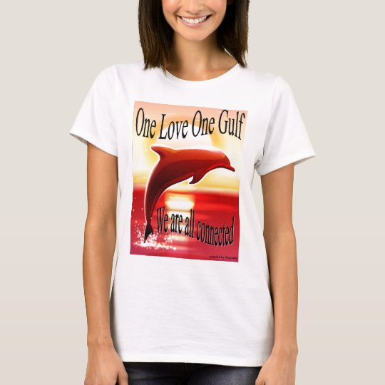 One Love One Gulf ladies fitted tee