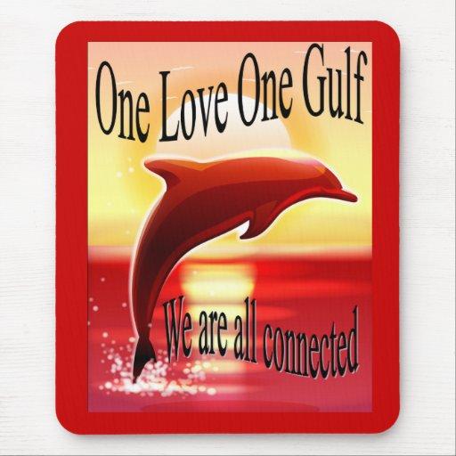 One Love One Gulf MousePad
