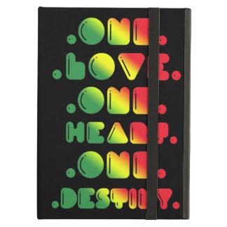 ONE LOVE, ONE HEART, ONE DESTINY iPad FOLIO CASE