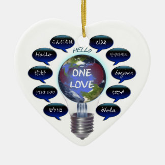 One Love Ornament