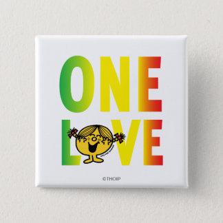 One Love Pinback Button