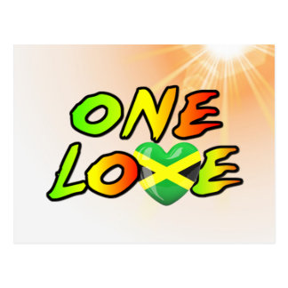 One love postcard