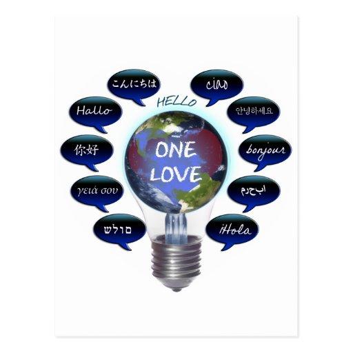 One Love Postcard