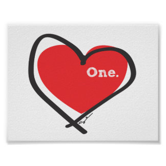 One love. poster