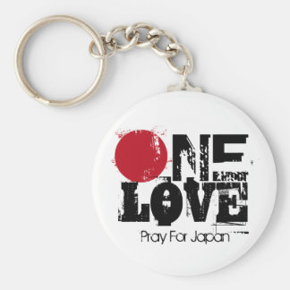 One Love - Pray for Japan Key-Chain Key Chain