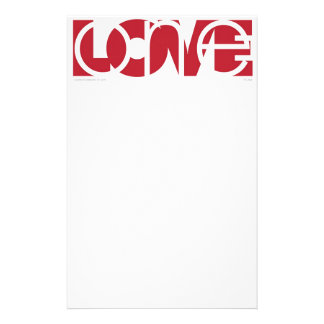 One Love (r) Stationery