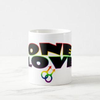 One Love Rainbow Mugs