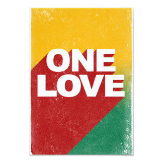 One love rasta card