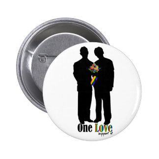 One Love..show your support Button
