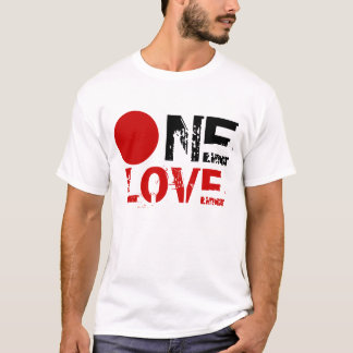 ONE LOVE (SUPPORT JAPAN) T-Shirt