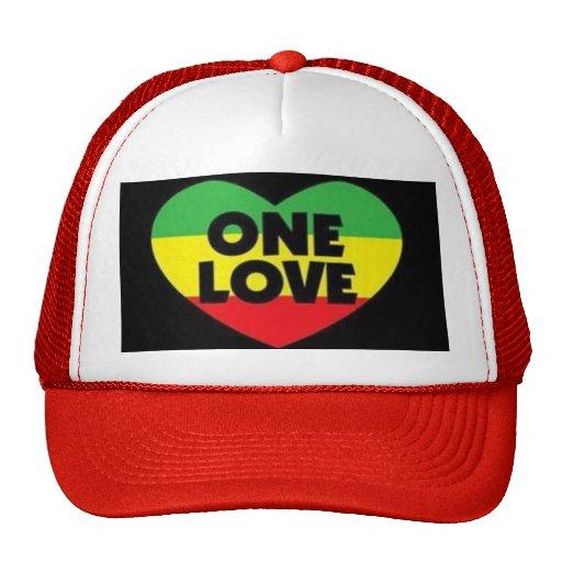 one love trucker hat