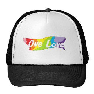 One Love Trucker Trucker Hat