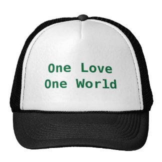 One LoveOne World Mesh Hats