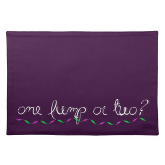 One Lump or Two? Cloth Placemat