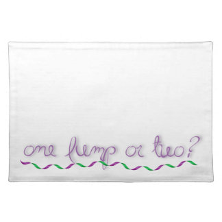 One Lump or Two? Placemat