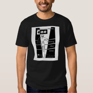 """ONE Magazine,""""Something About Sailors""""- April/1957 Tee Shirt"""