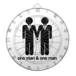 ONE MAN AND ONE MAN -.png Dart Board