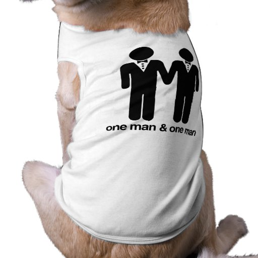 ONE MAN AND ONE MAN -.png Doggie Tee