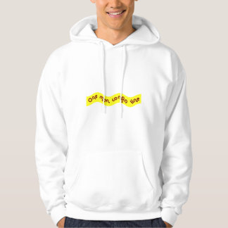 One Man Conga Line Hooded Pullover