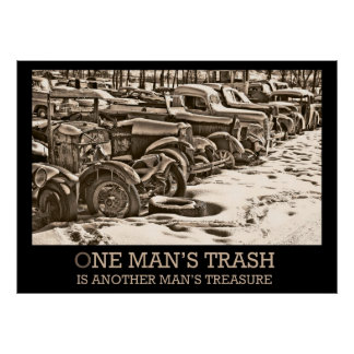 One Man s Trash Poster