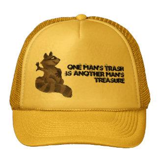 One man's trash trucker hat