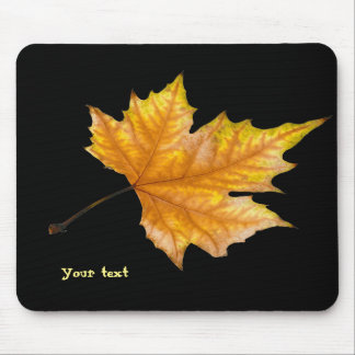 One Maple Leaf Mouse Pad