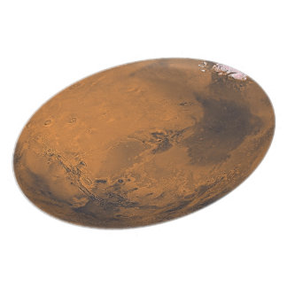 one Mars (Plate) Space Dinner Plate