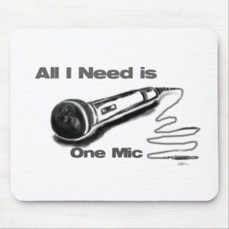 one mic mouse pad