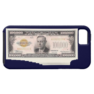 One Million Dollars in $100,000 Gold Certificates iPhone SE/5/5s Case