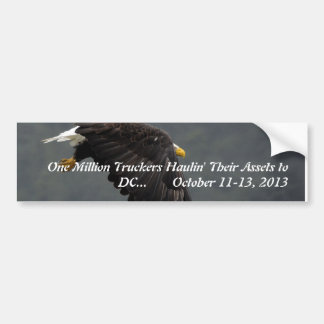 One Million Truckers Can't Be Wrong Bumper Sticker
