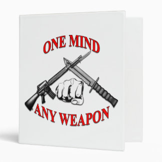 One Mind Any Weapon Binder