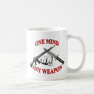 One Mind Any Weapon MCMAP Coffee Mug