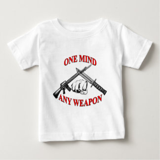 One Mind Any Weapon MCMAP Infant T-shirt