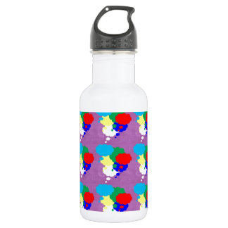 One MIND multiple THOUGHTS NVN184 NavinJOSHI FUN 18oz Water Bottle