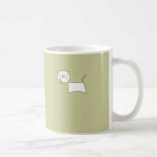One Minute PowerPoint Dog Coffee Mugs