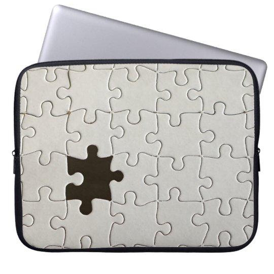 One Missing Puzzle Piece Laptop Sleeve