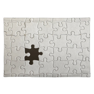 One Missing Puzzle Piece Cloth Place Mat