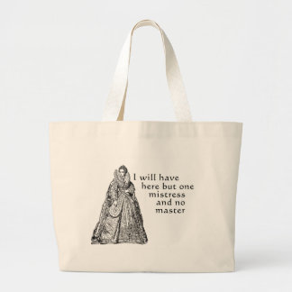 One Mistress Here Canvas Bag
