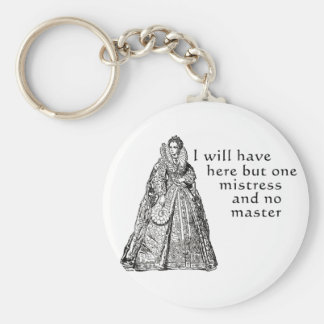 One Mistress Here Keychain
