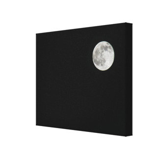 One Moon Gallery Wrapped Canvas