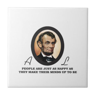 one more abe quote tile