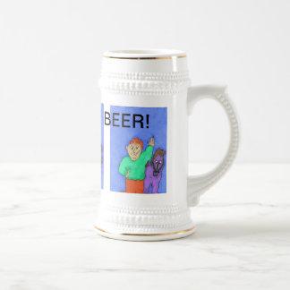 One More Beer! Beer Stein