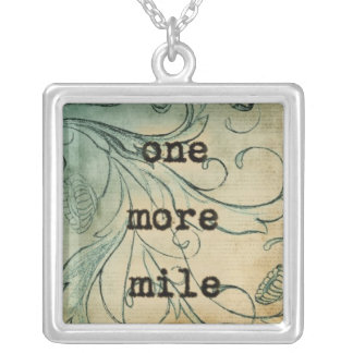 One More Mile necklace Vetro Jewelry