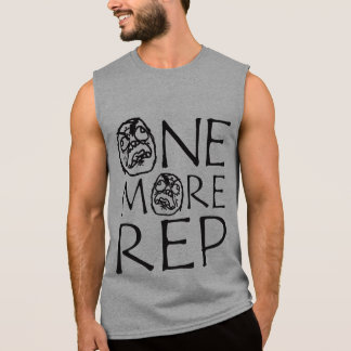 One More Rep - Angry Meme Face - Shirt For Lifters