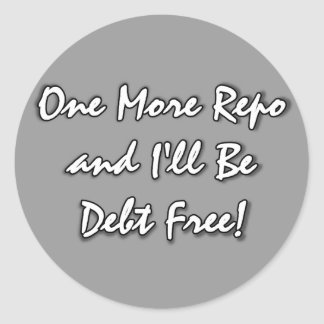 One More Repo large stickers