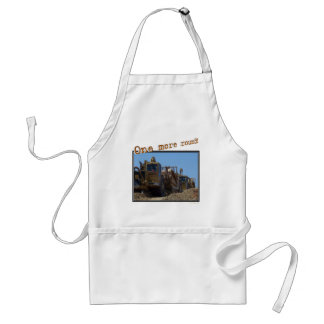 One more round adult apron